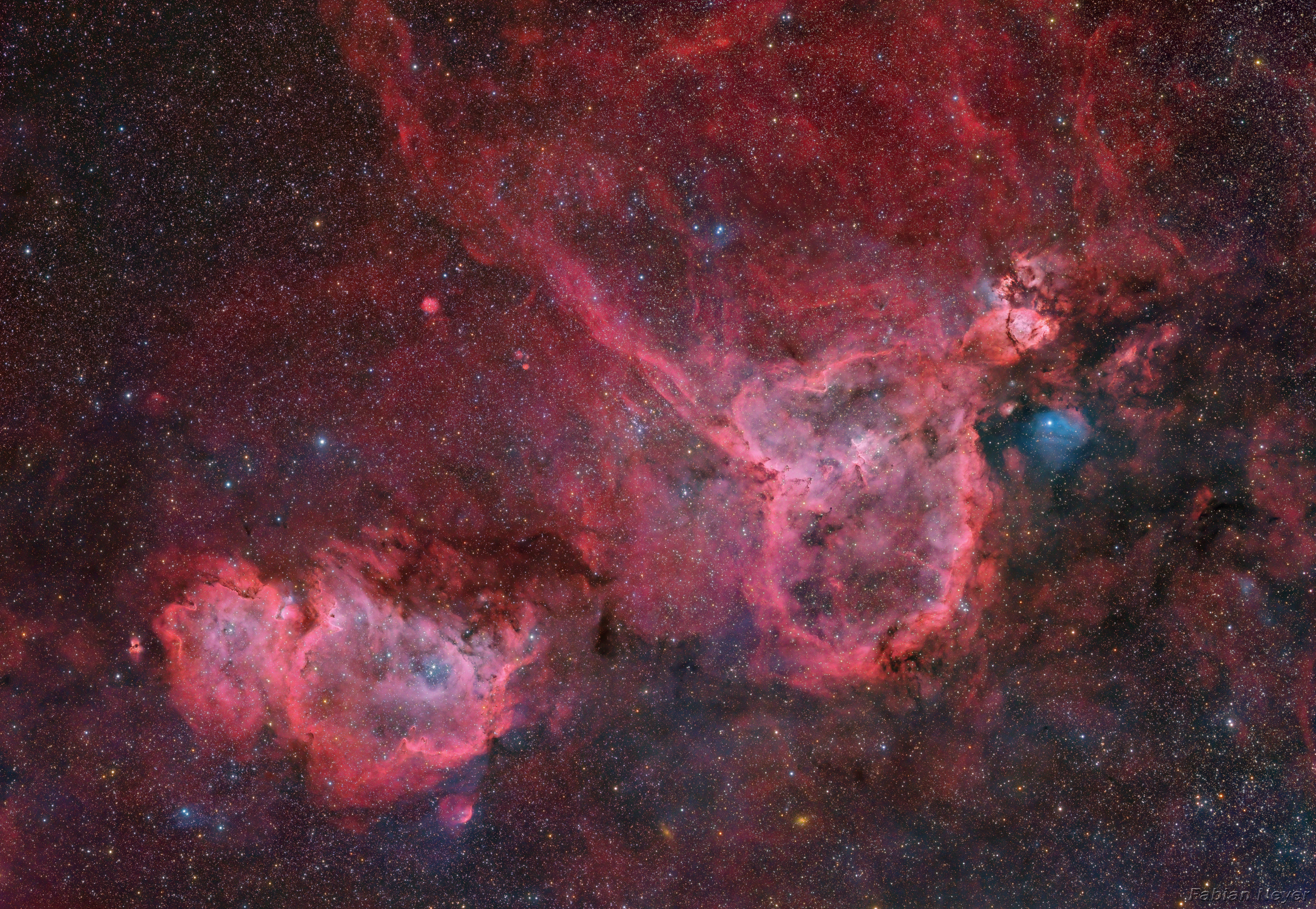 Heart and Soul Nebula