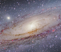 Andromeda Galaxy Core